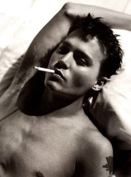 Johnny Depp by Sante D'Orazio, c1995