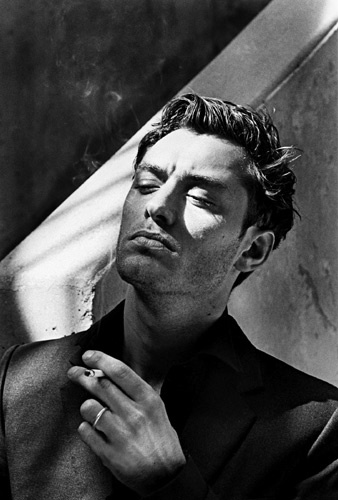 Jude Law by Helmut Newton, Monte Carlo 2001