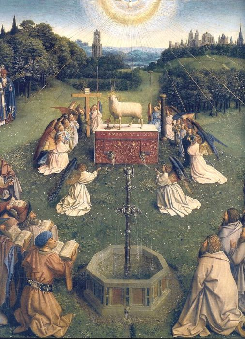 640px-Ghent_Altarpiece_D_-_Adoration_of_the_Lamb_2