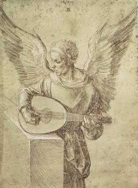 angel_playing DURERO