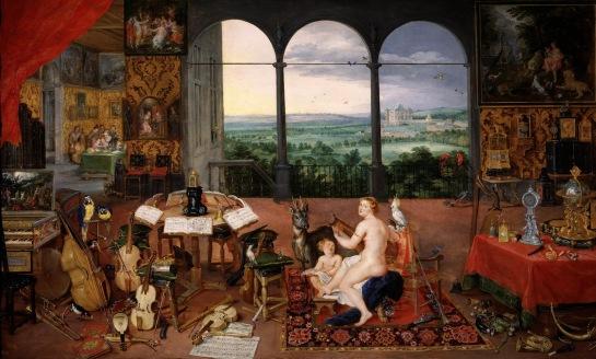 El oído - Brueghel-Rubens