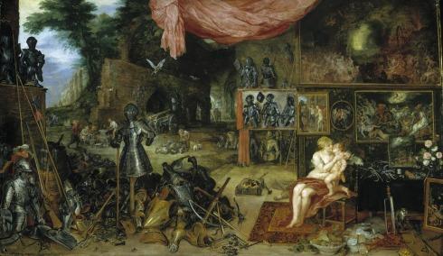 El tacto - Brueghel-Rubens