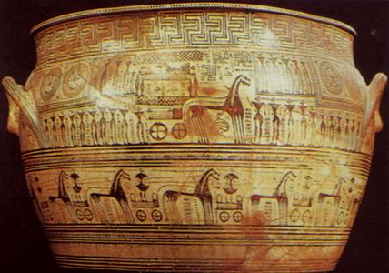 Francois Vase, Chiusi, c.570bc Archaeological Museum, Florence