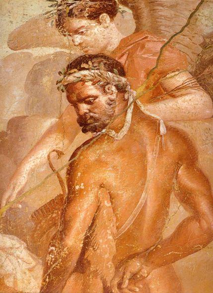 Herculaneum_-_Augusteum_-_Hercules_and_Telephos_-_Detail_2