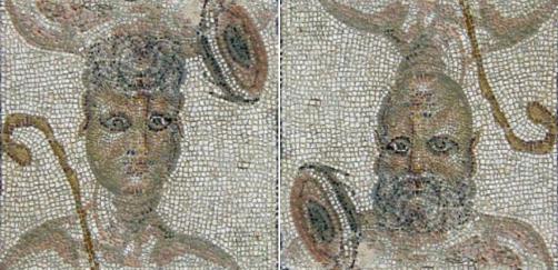 mosaico-doble ÉCIJA (sevilla) dionisos