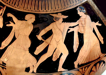 Orestes And Electra Orestes slaying aegisthus,