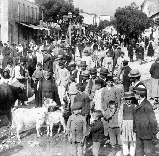 sparta-greece--street-scene--c-1907-international-images