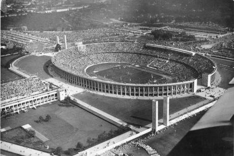 Das Olympia-Stadion in Berlin