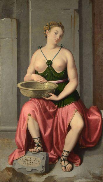 Giovanni_Battista_Moroni_-_The_Vestal_Virgin_Tuccia_-_Google_Art_Project