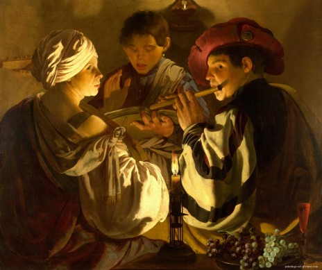 TERBRUGGHEN-Hendrick-The-Concert3-Painting-