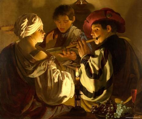 TERBRUGGHEN-Hendrick-The-Concert3-Painting-