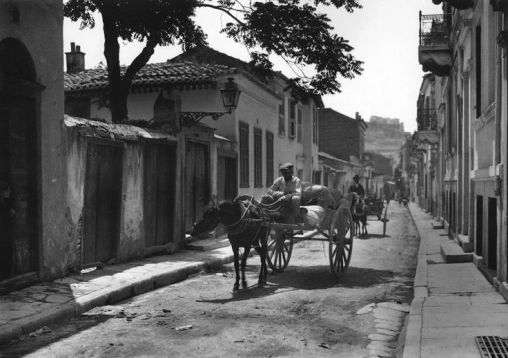 Athens, Plaka, 1920 by Frederic Boissonnas