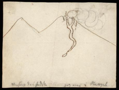 ultima noche en napoles vesubio 19 marzo 1834
