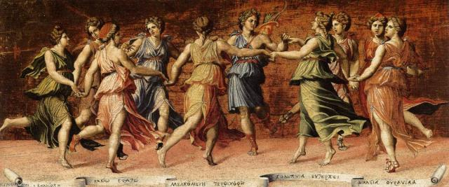 Baldassare-Peruzzi-Apollo-and-the-Muses