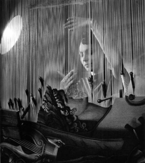 René Burri, Textile Industry, Lombardy, Italy, 1959