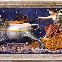 Calisto y Arcas trasnformados en constelaciones-1511-sala de galatea-Peruzzi-Villa Farnesina