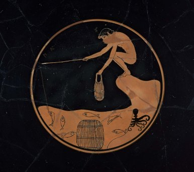 Drinking cup (kylix)boston
