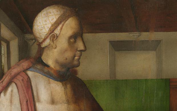 Giusto di Gand e Pedro Berruguete, Cicerone, Dipinto su tavola, 102 x 73 cm, Urbino, Galleria Nazionale delle Marche © M2ADL