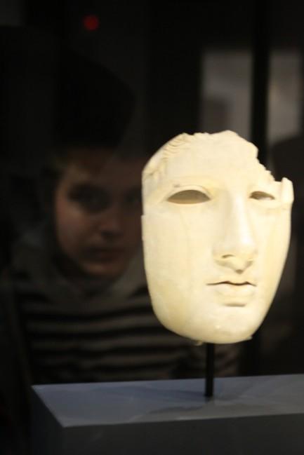 mascara de marfil