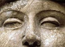 Máscara de hombre joven 150 a.d.c.