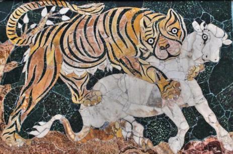 mosaico-del-tigre-atacando-a-un-ternero_1725_big
