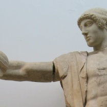 Apollo (from the West Pediment of the Temple of Zeus), Archaeological Museum of Olympia