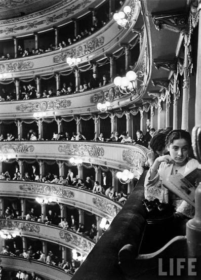 Alfred Eisenstaedt, Premiere at La Scala, Milan, Italy, 1934