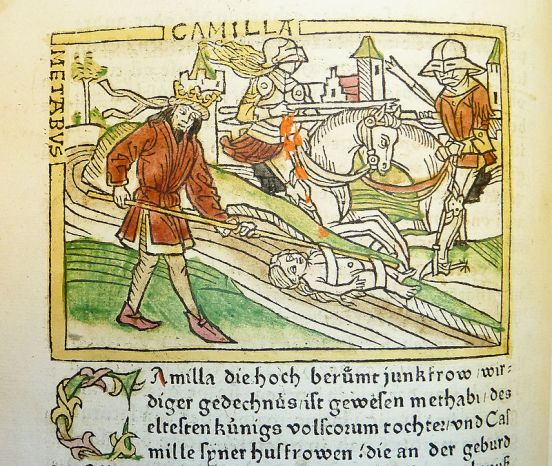 woodcut_illustration_of_camilla_and_metabus_escaping_into_exile_-_penn_provenance_project