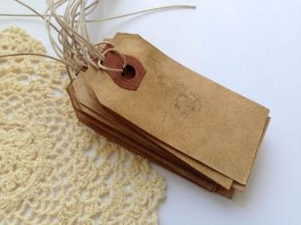 50-small-escort-cards-with-strings-place-card-vintage-wedding-name-card-favor-tag-rustic-gift-tag-hang-tag-paper-luggage-tag-dark