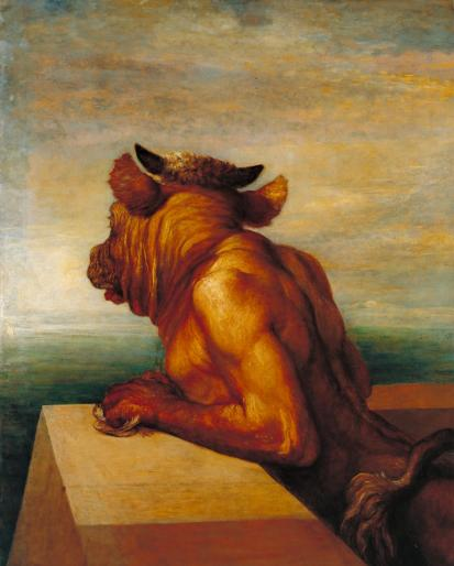 The Minotaur 1885 George Frederic Watts 1817-1904 Presented by the artist 1897 http://www.tate.org.uk/art/work/N01634